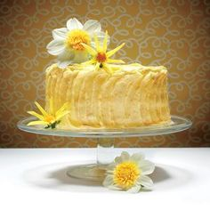 The Lemon Cheese Layer Cake, includes lemon curd which must be refrigerated at least 8 hours before use.