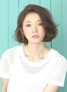 "『ナチュラル』ニュアンスカール""ボブ"" 【BRIDGE】 http://beautynavi.woman.excite.co.jp/salon/21483?pint ≪ #bobhair #bobstyle #hairstyle #bobhairstyle・ボブ・ヘアスタイル・髪型・髪形≫"