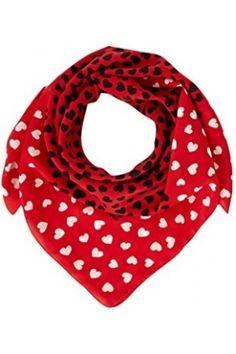 Pañuelos y bufandas de mujer - Moschino Cheap & Chic Pañuelo Seda 90x90 cm