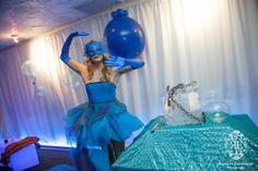Blue, water theme.  Photo by Richard Emmanuel Photography.