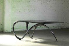 Carbon fiber Jet desk by Brodie Neill