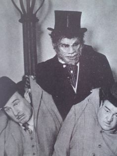 Abbott and Costello Meet Dr. Jekyll and Mr. Hyde. The boys with Boris Karloff