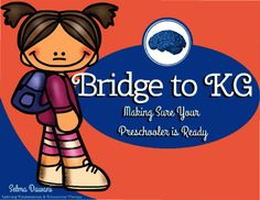 Selma Dawani  from  Bridge to Kindergarten - Excellent Summer Practice! on TeachersNotebook.com -  (41 pages) - Tons of activities to see if your little one is ready for KG.