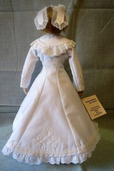 """French Fashion Doll Early Huret 12"""" by Theresa Maugham 