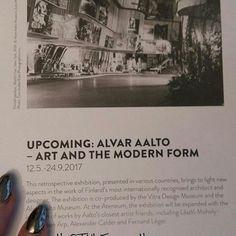 KULTTUURI. DESIG&Arkkitehtuuri. ATENEUM 2017... AVAUTUVA&UUSI NÄYTTELY Alvar Aalto, TAIDE ja MODERNI MUOTO 11.5.2017 - 24.9.2017.....NÄYTTELY esittelee Aalon tuotantoa&elämää. Alvar AALTO (1898-1976) on Kansainvälisesti Tunnetuin Arkkitehti&Muotoilija. ❤OSA SUOMEN Itsenäisyyden Satavuotisjuhlavuoden ohjelmaa. Seuraan&Tykkään KULTTUURISTA. SUOSITTELEN LÄMPIMÄSTI. Nähdään...HYMY @ateneummuseum @suomifinland100 #AJANKOHTAISTA #kulttuuri #desig #kotimainen #suomalainen #aalto #alvaraalto…