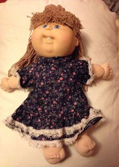 Original Pretty Crimp & Curl  First Edition Cabbage Patch Doll Signed Bottom #CabbagePatch #Doll