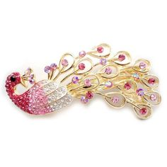 Luxury handmade diamond hair accessories, alloy peacock spring clip ** Read more  at the image link.