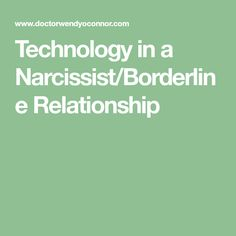 borderline dating a narcissist