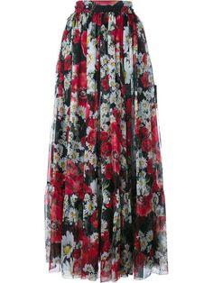 Compre Dolce & Gabbana Saia de seda floral em Browns from the world's best independent boutiques at farfetch.com. Compre em 400 boutiques em um único endereço.