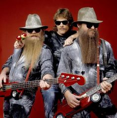 ZZ Top. That little band from Texas