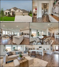 With so much space to ROAM can you see yourself living in this HOME?! Living Rooms, Living Spaces, New Home Construction, New Homes For Sale, Model Homes, House Floor Plans, Real Estate Marketing, Dream Homes, Building A House