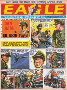 Blimey! It's another blog about comics!: Dan Dare