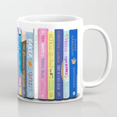 Romance Books Coffee Mug by BrownPaperBunny - 11 oz