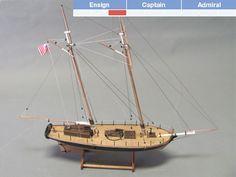 U.S. Revenue Cutter - BlueJacket Kit #K1106A Solid Hull