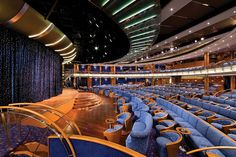 Voyager, Theater #croisiere #sevenseasvoyager http://www.seagnature.com/compagnies.php?idcie=18