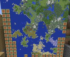 The explored area of my MCPE world I have been building for 4 years : Minecraft <<< Wow that's a lot maps Art Minecraft, Minecraft Building Guide, Minecraft Banner Designs, Minecraft Images, Minecraft Banners, Amazing Minecraft, Minecraft Tutorial, Minecraft Blueprints, Minecraft Creations