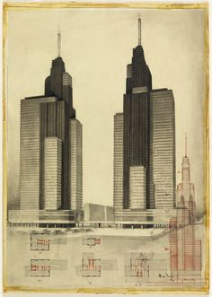 Architectural Drawings Of Skyscrapers super thin skyscrapers | architecture: skyscrapers | pinterest