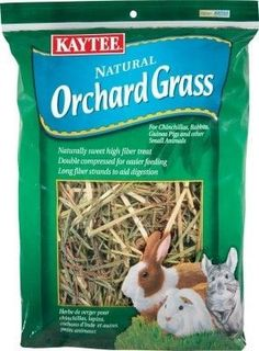 SMALL ANIMAL - FOOD: HAY - ORCHARD GRASS 16OZ - - CENTRAL - KAYTEE PRODUCTS, INC - UPC: 71859002224 - DEPT: SMALL ANIMAL PRODUCTS