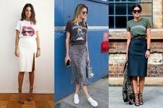 Camiseta estampada: ideias para looks despojados, mas elegantes