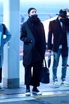 141206- BTS Rap Monster (Kim Namjoon) @ Incheon Airport #bts #bangtan…