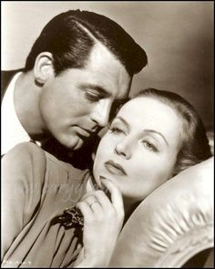 """Carole Lombard and Cary Grant in """"In Name Only"""",1939"""