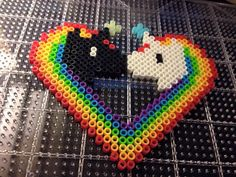 Unicorn Love Perler                                                                                                                                                                                 More