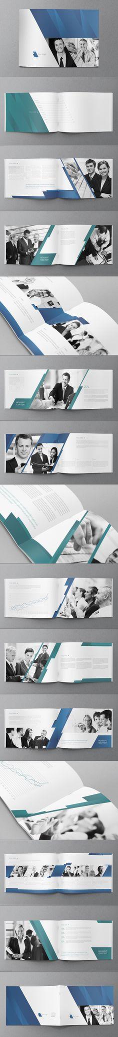 Business Brochure Design by Abra Design, via Behance