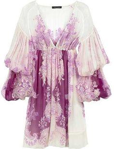4ad7417d39575 Roberto Cavalli Print chiffon mini dress - ShopStyle Evening