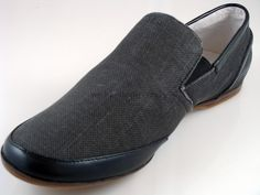 Steve Madden Canvas Vegan Loafers.  Comfortable and affordable shoes to wear for Men who are Vegan/Vegetarian, and go with Casual and Smart Attire.  Highly Recommended and long lasting.