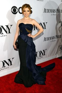 Anna Kendrick, 2013 - The Most Stunning Tony Awards Looks of All Time - Photos