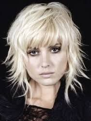 Image result for shaggy layered hair