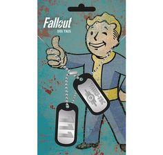 Fallout Dog Tag Vault Tec