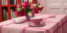 Glockengiesser Collection, TableclothFor all Pink Fans