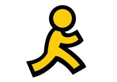 The Story Behind AOL's Iconic Yellow Running Man - The Atlantic / @joroan designed the AOL running man icon what
