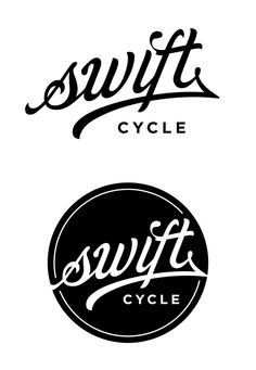 Swift Cycles by Kevin Hayes - @Kevin Moussa-Mann Moussa-Mann Hayes #typography #ligature