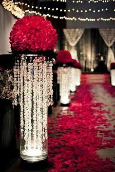 Centerpiece Idea for a Hollywood Theme Wedding