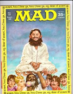 MAD magazine from 1968  I read everyone of these for several years.
