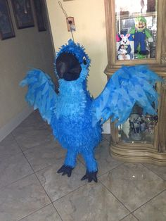 Rio Piñata for my sons Rio themed party
