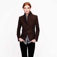 Schoolboy blazer in beaded tweed | J.Crew