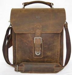 Vintage-Mens-Leather-Shoulder-School-Bag-Messenger-iPad