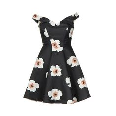 Full Bloom Dress ($120) ❤ liked on Polyvore featuring dresses, vintage pinup dress, zipper back dress, bright colored dresses, pinup dress and floral pattern dress