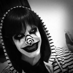 My version of Laughing Jack Makeup