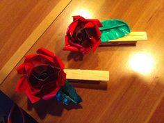 Special-T Teekapsel Rose auf Waescheklammer