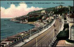 Postcard: Le Havre Sainte Adresse: Maritime, Boulevard.