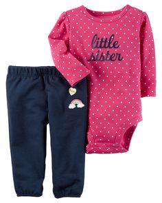 New Carter/'s Girls 3 Piece Pink Cardigan Terry Cat Face Rear Pant Set NWT NB 3 9