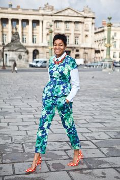 You might have seen Tamu McPherson recently on Net-a-Porter, she is the blogger from Milan of All the pretty birds and fashion director of Grazia.it which under her guard turned into a beautiful, fun platform of writers and artists and also shows some of her great photography.