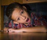 Indoor treasure hunts are great fun for grandchildren when the weather is bad.