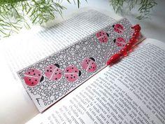 "Marcapáginas ""Mariquitas"" / ""Ladybirds"" bookmark"