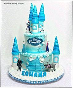 Frozen Castle Cake!