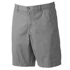 Marc Anthony Slim-Fit Twill Flat-Front Shorts - Men